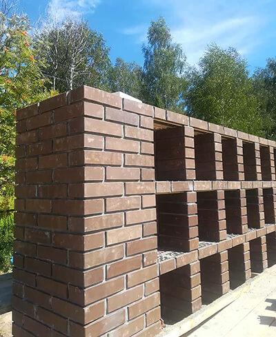 колумбарная стена в Калуге